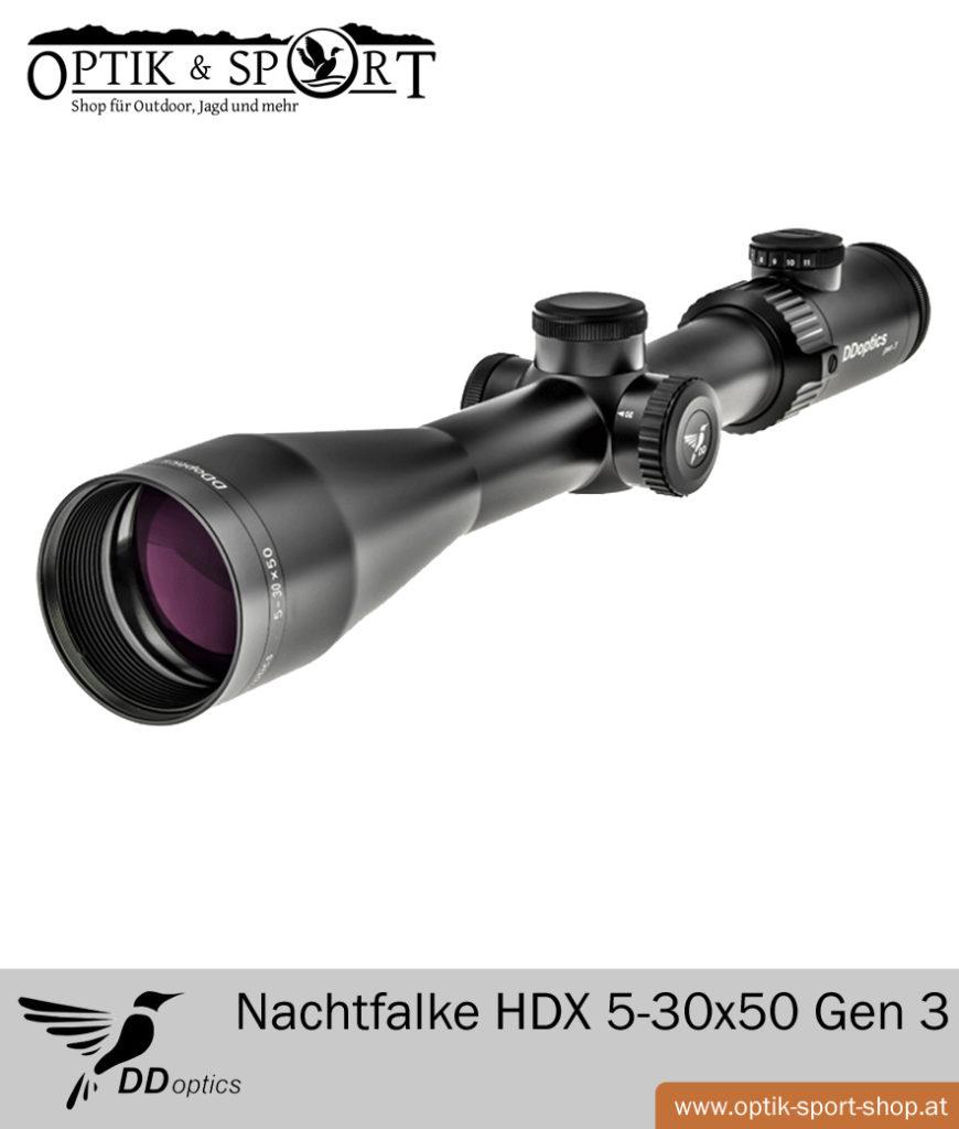 DDoptics Nachtfalke HDX 5-30x50