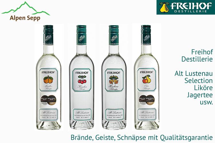 Freihof Schnaps Spirituose