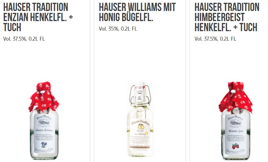 Hauser Tradition bei Shoepping