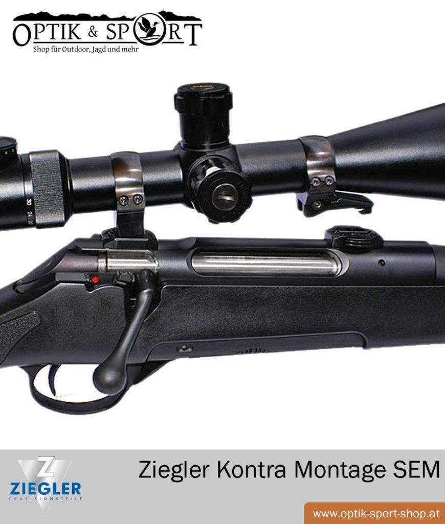 Ziegler Kontra Montage Suhler Einhak Montage