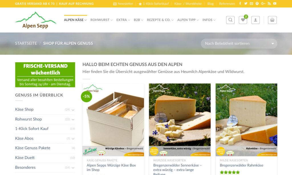 Alpen Sepp Genuss Shop