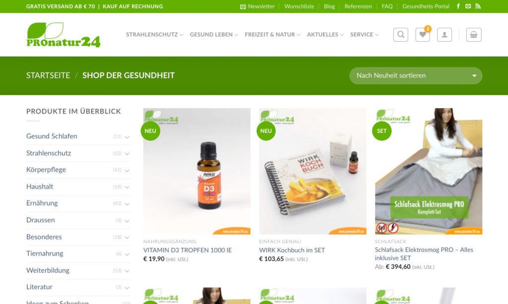PROnatur24 Gesundheits Shop