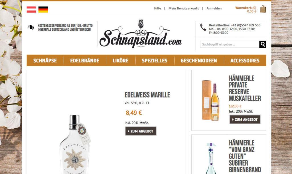 Schnapsland Slider